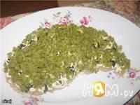 Приготовление слоеного салата из тунца: шаг 5