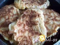 Приготовление куриных оладьев: шаг 6