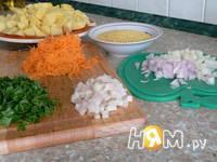 Приготовление овощного супа Рататуй: шаг 3