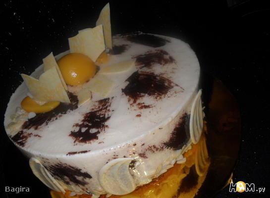 """Торт """"Ароматный персик"""""""