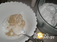 Приготовление торта Ароматный персик: шаг 1