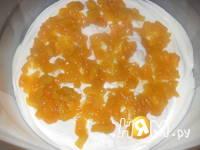 Приготовление торта Ароматный персик: шаг 7