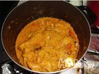 Приготовление куриных Бириани: шаг 3