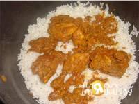 Приготовление куриных Бириани: шаг 5