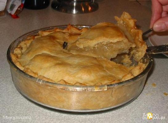 "Яблочный пирог ""Домашний"""