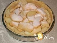 Приготовление яблочного пирога Домашнего: шаг 7