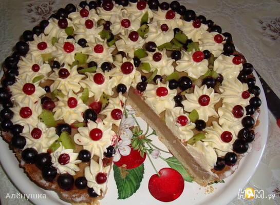 Индийский банановый торт с йогуртом