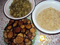 Приготовление слоёного салата с баклажанами: шаг 1