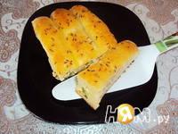 Приготовление пирога-гармошки: шаг 10