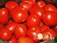 Приготовление томатов в собственном соку: шаг 1
