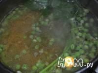Приготовление minestra di piselli di Almatura : шаг 3