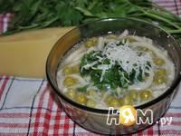 Приготовление minestra di piselli di Almatura : шаг 4