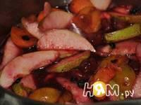 Приготовление фруктового кобблера: шаг 2