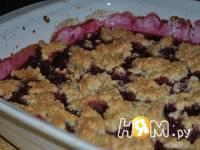 Приготовление фруктового кобблера: шаг 6
