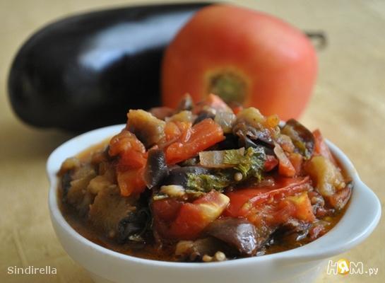 Рецепт caponata -Тушеные баклажаны по-сицилийски