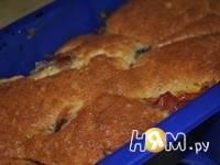 Приготовление кекса с  нектаринами: шаг 5