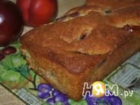 Приготовление кекса с  нектаринами: шаг 6
