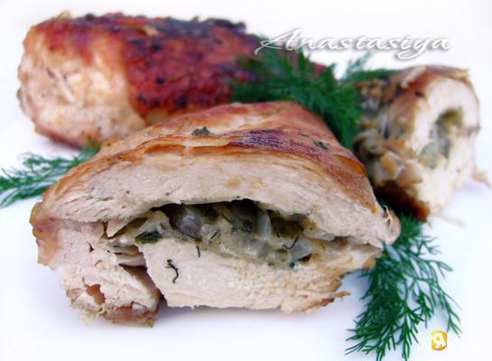 Рецепт Куриное филе с сыром в кунжутной панировке