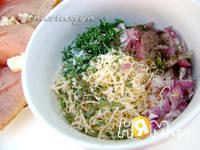 Приготовление куриного филе с сыром: шаг 2
