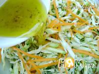 Приготовление овощного салата с кабачками: шаг 3