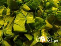 Приготовление шпинатной гусенички: шаг 1