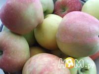 Приготовление блинчиков с яблоками: шаг 1