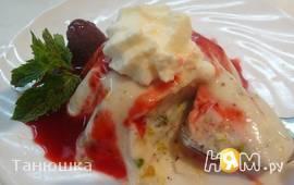 Йогуртовый десерт с фисташками