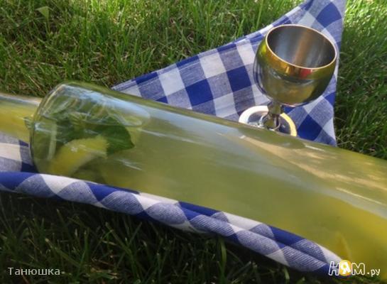 Рецепт Лимонно-мятная настойка