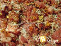 Приготовление домашней колбасы с паприкой: шаг 4