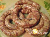 Приготовление домашней колбасы с паприкой: шаг 6
