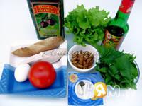 Приготовление салата Босфор: шаг 1