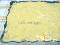 Приготовление творожной запеканки с макаронами: шаг 3
