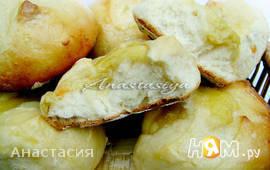 Цитрусовые булочки с апельсиново-лимонным курдом
