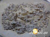 Приготовление пирога Фрукты в перине: шаг 1