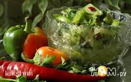 Салат из зелёных помидор