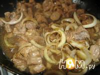 Приготовление мяса в имбирном соусе: шаг 8