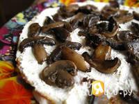 Приготовление закусочного блинного торта: шаг 10