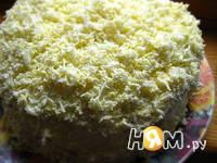Приготовление закусочного блинного торта: шаг 16