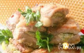 Мясо фаршированное