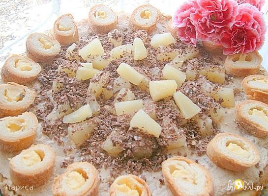 Рецепт Торт с сыром маскарпоне и капучино