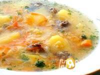Приготовление тыквенно-пшенного супа: шаг 7