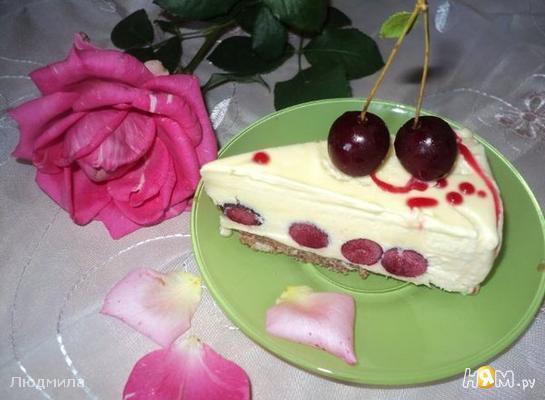 "Рецепт Торт-мороженое ""Вишневый сад"""