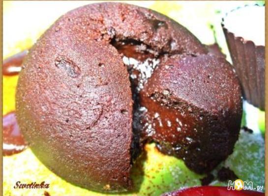 """Французский шоколадный десерт «Флирт без правил"""""""