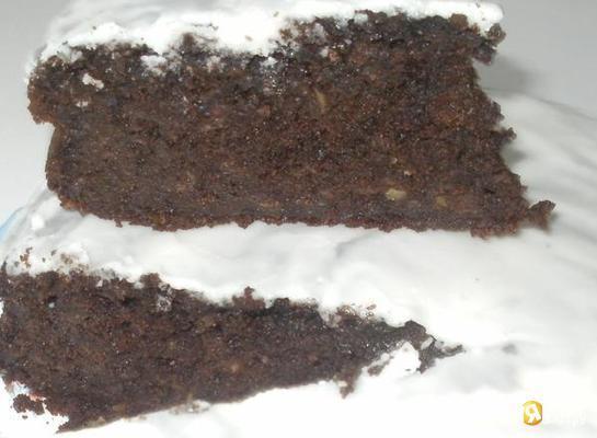 Рецепт Шоколадно- яблочный пирог