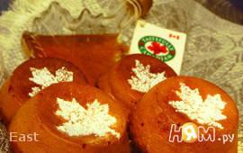 Имбирные кексы с кленовым сиропом