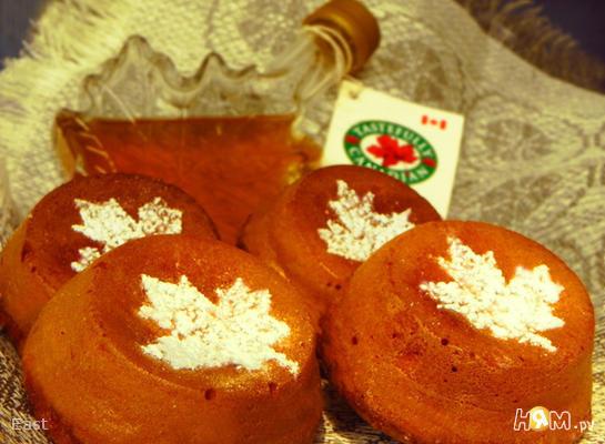 Рецепт Имбирные кексы с кленовым сиропом