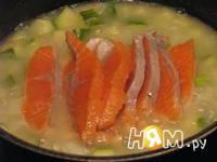 Приготовление крем-супа из цукини с форелью: шаг 7