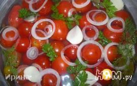 Быстро маринованные помидорчики