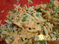 Приготовление марковно-картофельных оладушек: шаг 2