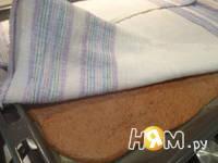 Приготовление рулета из шоколадного суфле: шаг 9